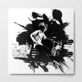 Zack de la Rocha Metal Print