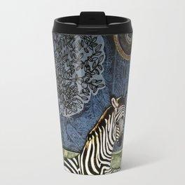 The Nobility of the Zebra Travel Mug
