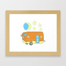Goodnight Camper Framed Art Print