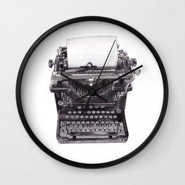 Vintage Remington Standard Typewriter Wall Clock
