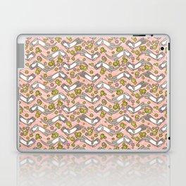 Swimming Otter Girls Laptop & iPad Skin