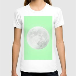 WHITE MOON + LIME SKY T-shirt