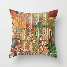 Being for the Benefit of Mr. Liddell's Daughters Throw Pillow