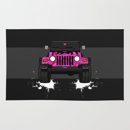 Pixie the Pink TJ Rug