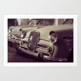1966 Car Showroom Art Print