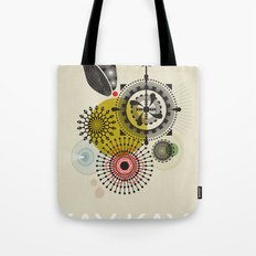 Kay Kay and His Weathered Underground Tote Bag