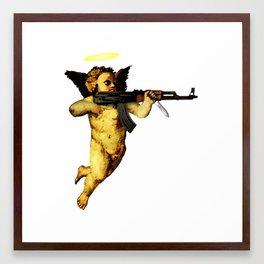 Meet My Guardian Angel Framed Art Print