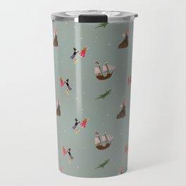 Neverland Pattern Travel Mug