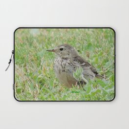 Pipit on the Lawn Laptop Sleeve