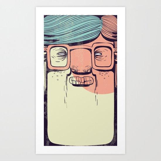 The Teenager Art Print