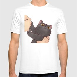 cat : huuh T-shirt