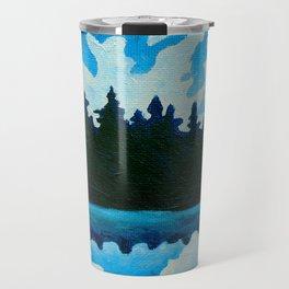 Blue Totem No.2 Travel Mug