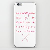 allison argent iPhone & iPod Skins featuring Allison Argent by salem
