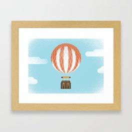 Montgolfier Framed Art Print