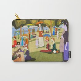 A Sunday Afternoon on the Island of Unicorns Carry-All Pouch