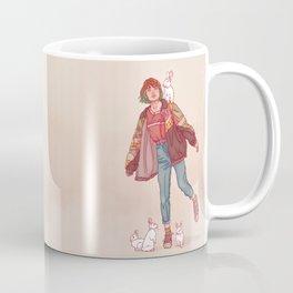 Color Mind Lady Coffee Mug