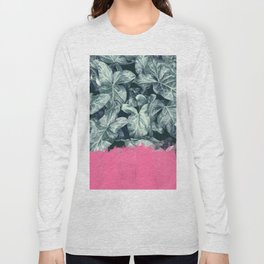 Pink Sorbet on Jungle Long Sleeve T-shirt