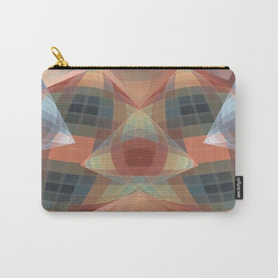 Diamonds and patterns, trendy geometric abstract Carry-All Pouch