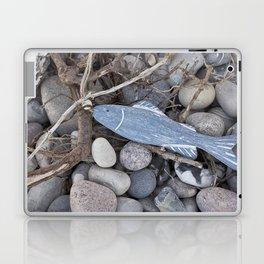 Little Fish At The Beach Laptop & iPad Skin