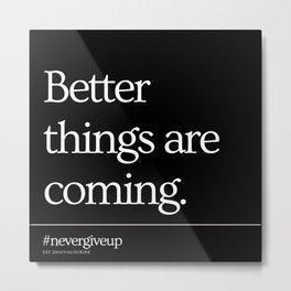 20  Simple Short Quotes   200818   Short Inspiring Motivational Inspirational Quotes Metal Print