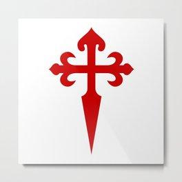 Santiago Cross Metal Print