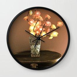 Stationary Traveler  Wall Clock