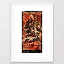 QOTSA Framed Art Print