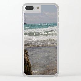 Mare di Maiorca - Matteomike Clear iPhone Case