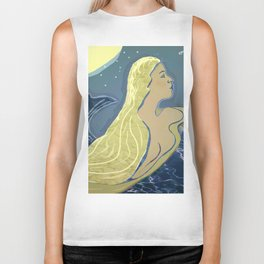 Mermaid / Venus Biker Tank
