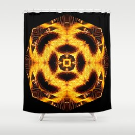 Frazzled Shower Curtain