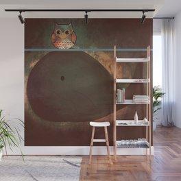 owl&whale-197 Wall Mural