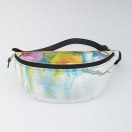 Quirky Birds Fanny Pack