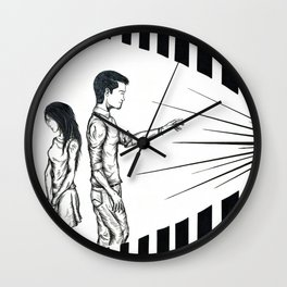 Current Blessings Wall Clock