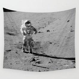 Apollo 17 - Commander Gene Cernan Wall Tapestry