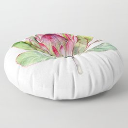Protea Flower Floor Pillow