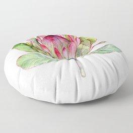Protea Flower Floor Pillow