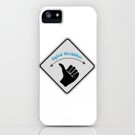 Digital Hitchhiker iPhone Case