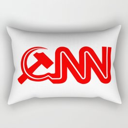 Communist News Network Rectangular Pillow