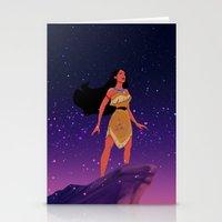 pocahontas Stationery Cards featuring Pocahontas ♥ by Vita♥G