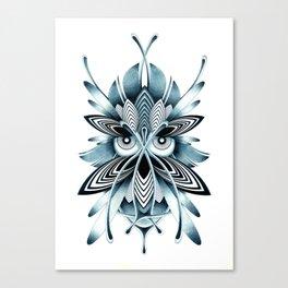 BLUE OWL Canvas Print