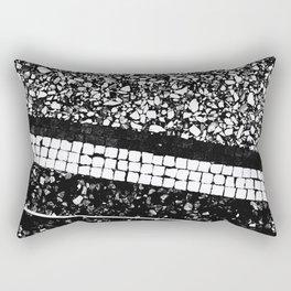 Terrazzo Pattern Black & White #1 #texture #decor #art #society6 Rectangular Pillow