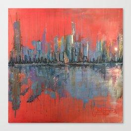 MORNING REFLECTS ILLUSION Canvas Print