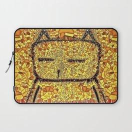 Sunbathing Cat Laptop Sleeve