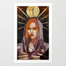 Nine of Swords: Leliana Art Print