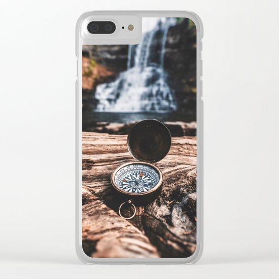 May Your Compass Be True Clear iPhone Case