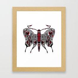 Bored Eye Moth of Utterly Dismal Conversationalists Framed Art Print