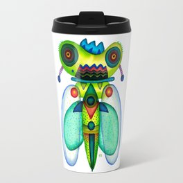 Dragonfly Moth Travel Mug