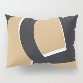 Nude abstract leg pose Pillow Sham