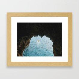 Cave Fanger, Italian Style Framed Art Print