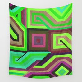 Love and Logic Colour Variation2 Wall Tapestry